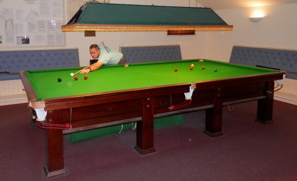 Snooker, pool, and darts facilities
