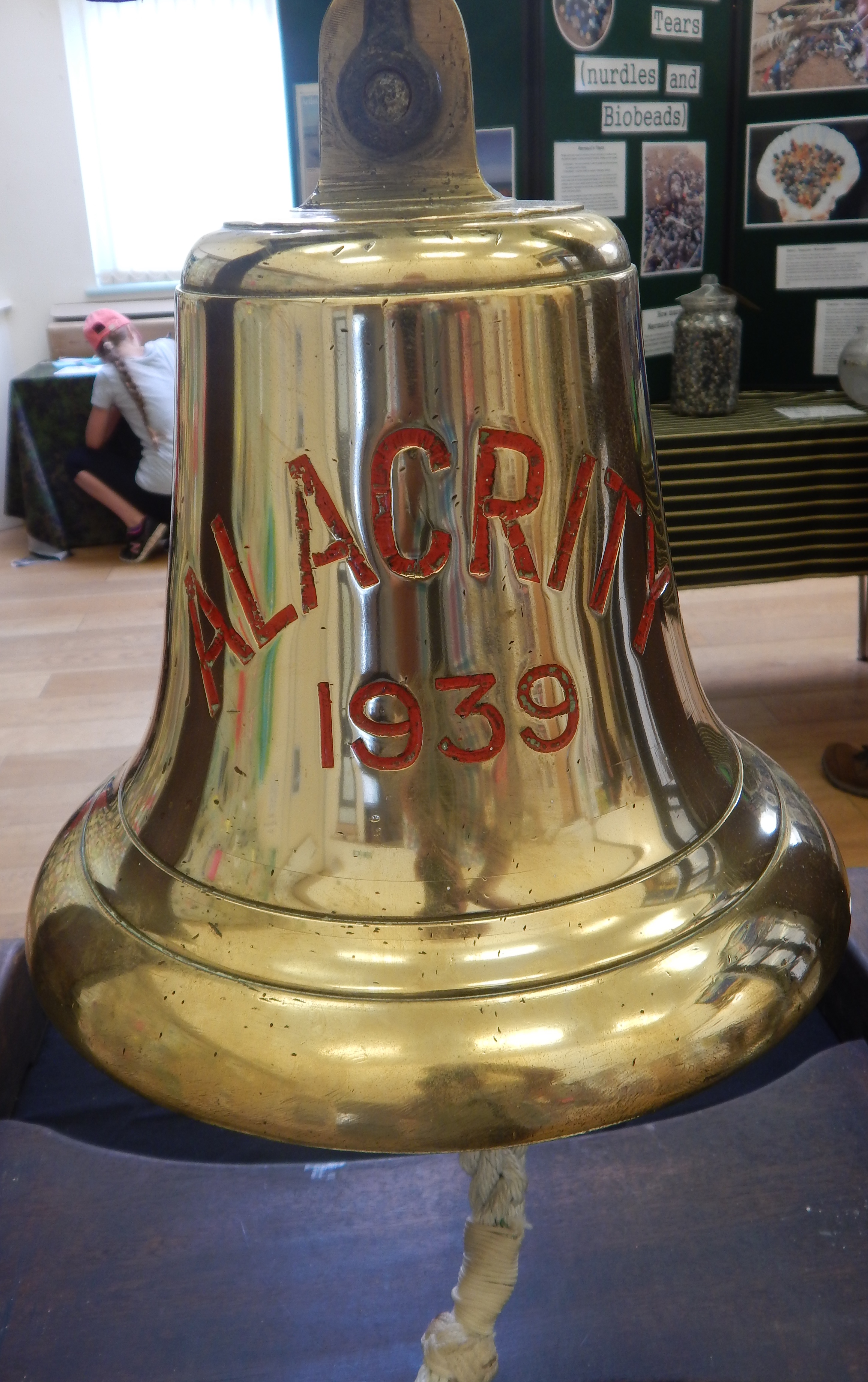 Ships Bell from The Alacrity