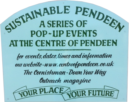 Sustainable Pendeen sign